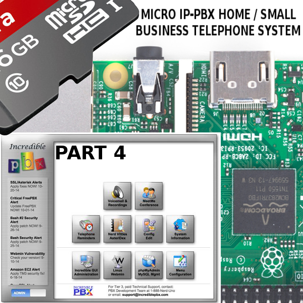 DIY Telephone System With The Raspberry Pi 3 & IncrediblePBX